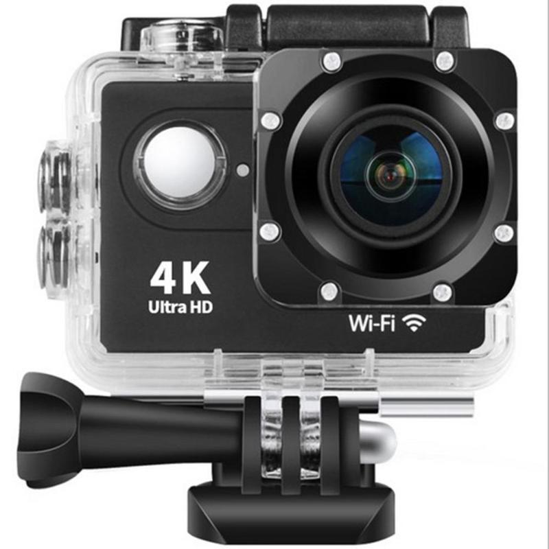 كاميرا H9 4K الرياضة الترا HD الكاميرا الرياضية في الهواء الطلق WIFI بعد الغوص عمل مراقبة للماء