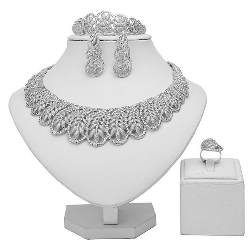 ZuoDi 2020 nigeriano casamento acessórios mulher conjunto de jóias por atacado italiana jóia nupcial set dubai designer de ouro