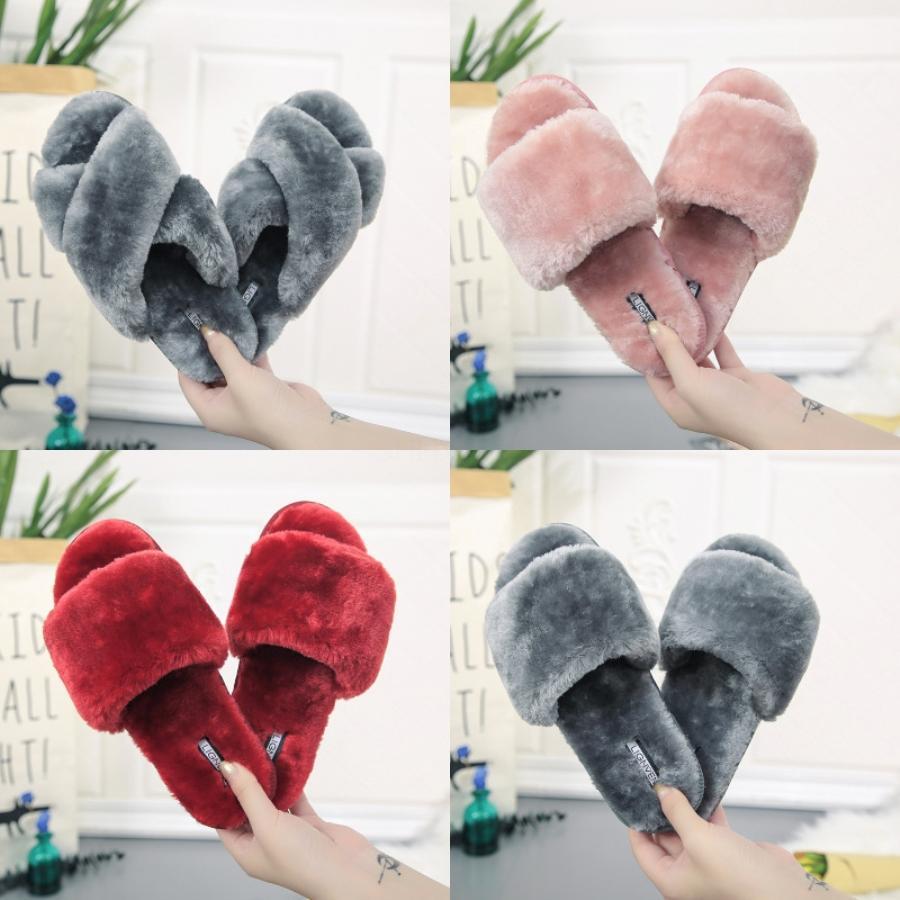 Chaussures Femme Sandales de haute qualité talons sandales Chaussons Huaraches Tongs Mocassins Chaussures Pour Slipper Shoe04 PL69 # 826