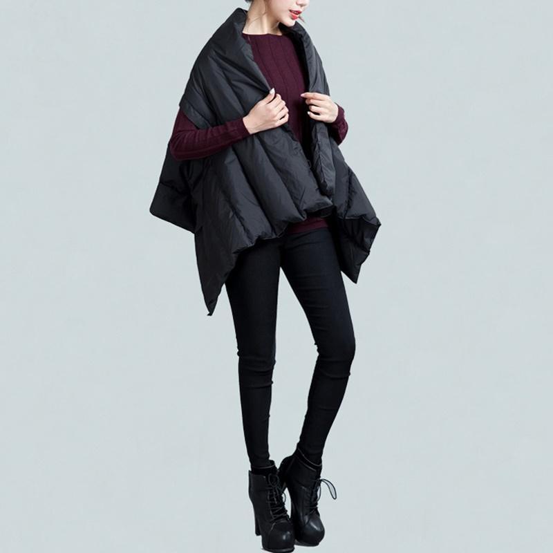 Женщины Зима Vest Новую моду Parka пальто без рукавов Нерегулярного ватник пальто хлопка жилет Хлеб Толстых пальто Жилет OS284