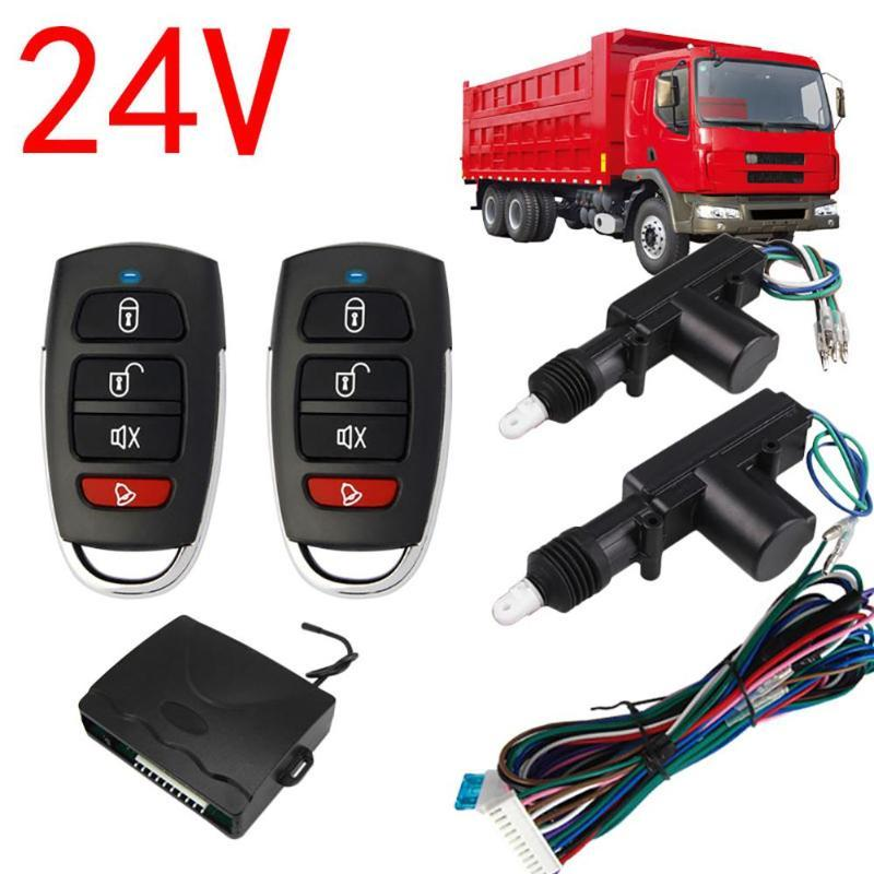 2 Door Remote Control Car Central Lock Locking Security System Keyless Entry Kit Automobile Central Lock For Truck