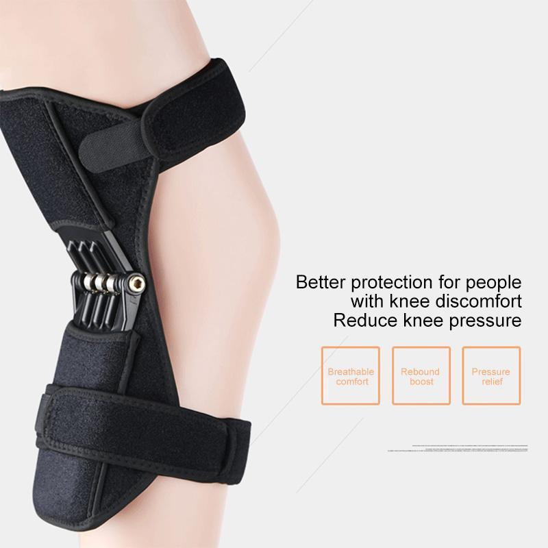 2 PCS наколенники Force дышащий Стабилизатор коленного сустава для спорта Поддержка Non-Slip уменьшить боль Облегчение для коленей питания Весна