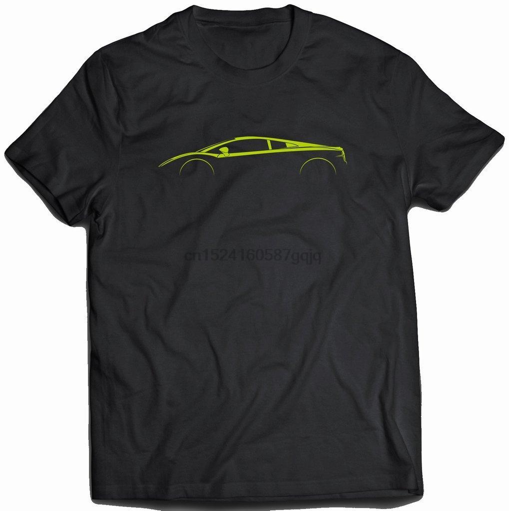 Uomini della maglietta Gallardo Silhouette T-Shirt T-shirt
