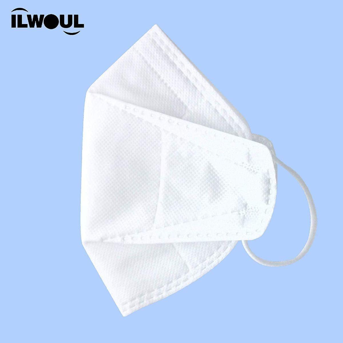 (10 pezzi) Respirare in modo sicuro Bocca Protezione / Protezione viso - da polvere, polline e peli di animali domestici, Quadrupla filtro, Pack individuali, Made in Corea