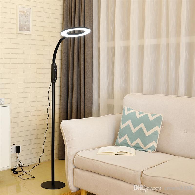 Crestech modern minimalist İskandinav ayakta lambalar led zemin ışıkları yaratıcı oturma odası için led zemin lambaları