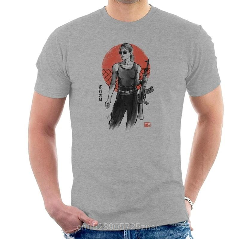 T-shirt donne Masculina camiseta camiseta stampato Terminator Sarah Connor Uomo