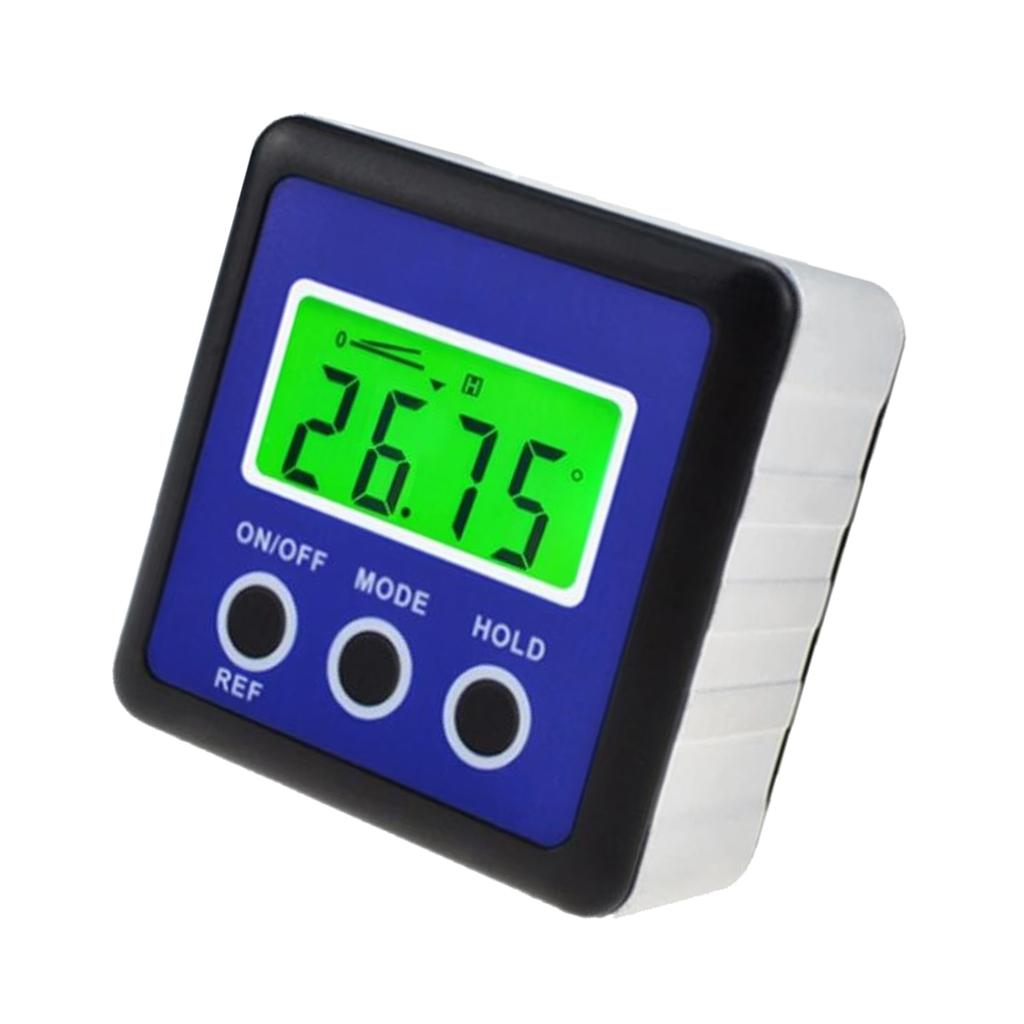 B Inclinometer Angle Gauge and Protractor CO-Z Digital Level and Angle Finder