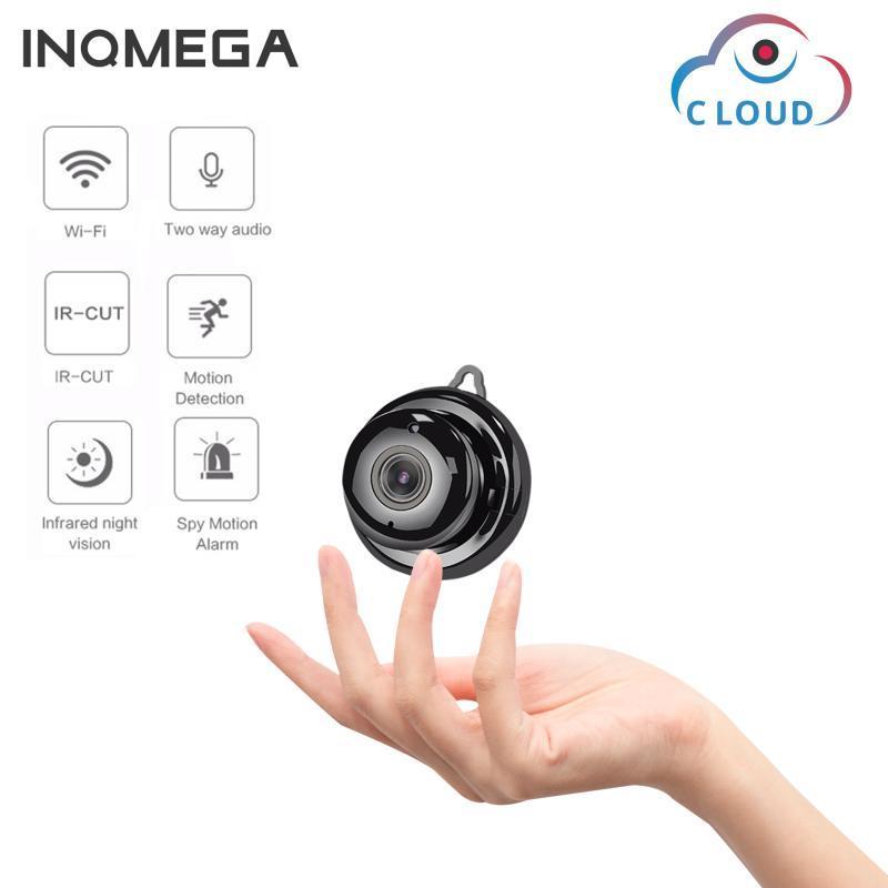 Câmera IP INQMEGA 1080P Mini Wireless WiFi Câmera de segurança Home CCTV Vigilância IR Night Vision Motion Detect Baby Monitor P2P