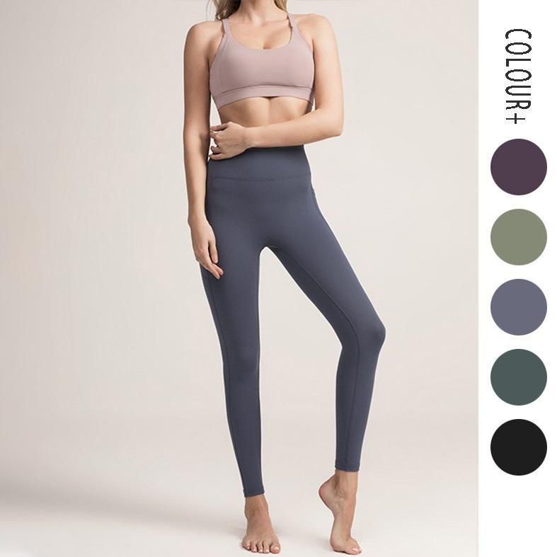 Yogaworld طماق الملابس مثير السراويل النساء ممارسة اللياقة الجري اليوغا الرقص التدريب عارية ضيق ضيق أسود
