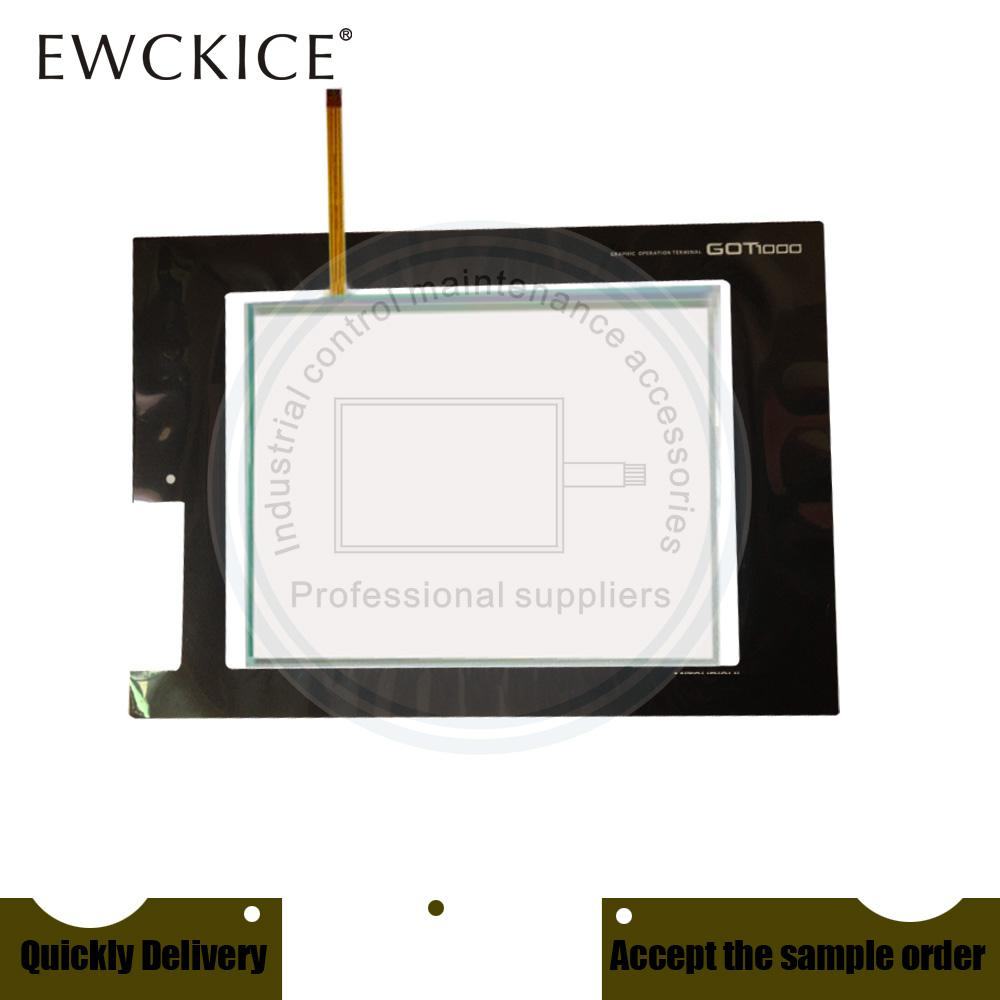 Original NEW GT1665M-STBA GT1665M-STBD GT1665M-VTBD GT1665M-VTBA GT1665M PLC HMI Industrie-TouchScreen und Frontetikett Film