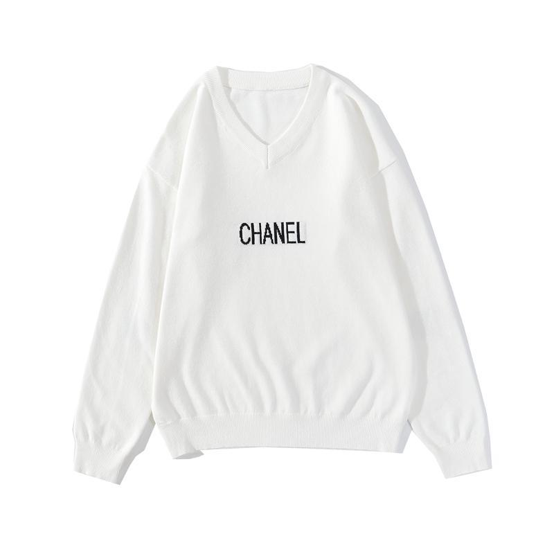 Autunno 2020 nuove parti superiori alla moda, maglieria, T-shirt, top con scollo a V, mens maglione tirare, semplice tendenza, tutto-fiammifero di uomini e donne, mens designer maglione