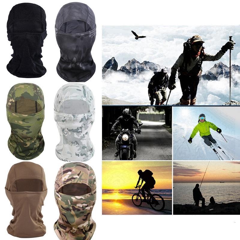 Invierno al aire libre la conducción deportiva cortavientos protector solar máscara a prueba de polvo Mantener caliente Sombrero enmascarado 12 Estilo Hha1000