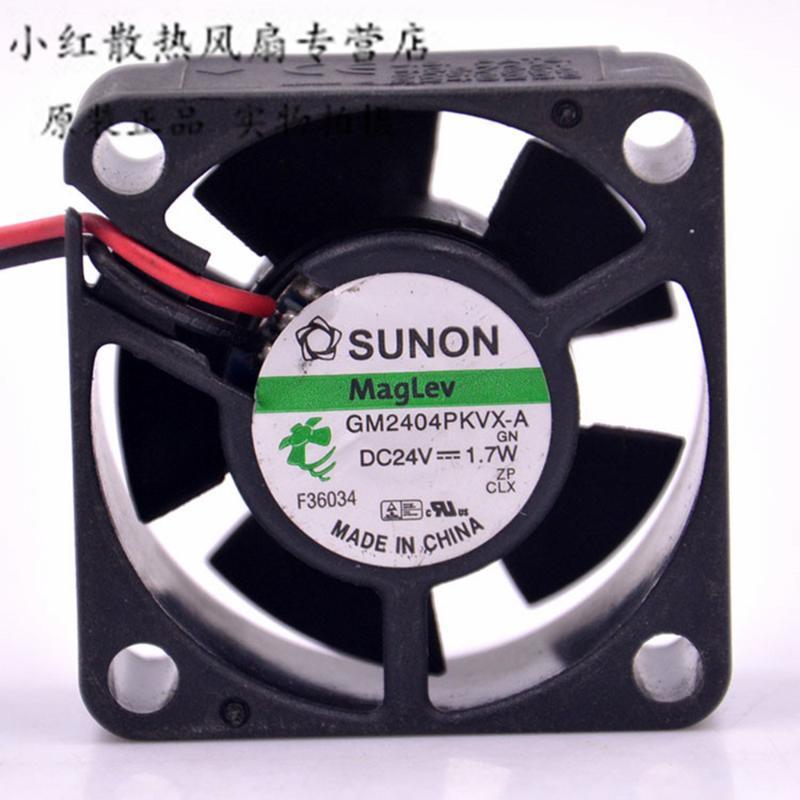 Вентиляторы Охлаждения для Sunon GM2404PKVX-A 24V 1.7W 4 см 4020 4 * 4 * 2 см 40 * 40 * 20 мм Охладитель CPU Охладитель охладистый охладный охлаждающий вентилятор