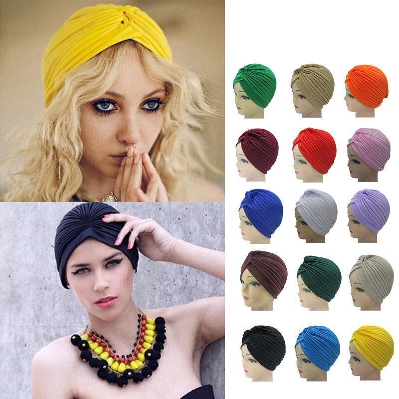 Sombrero indio étnico del dedo del pie Stretch Cap Personalidad señoras de la moda otoño invierno Yoga Sombrero Sombrero árabe