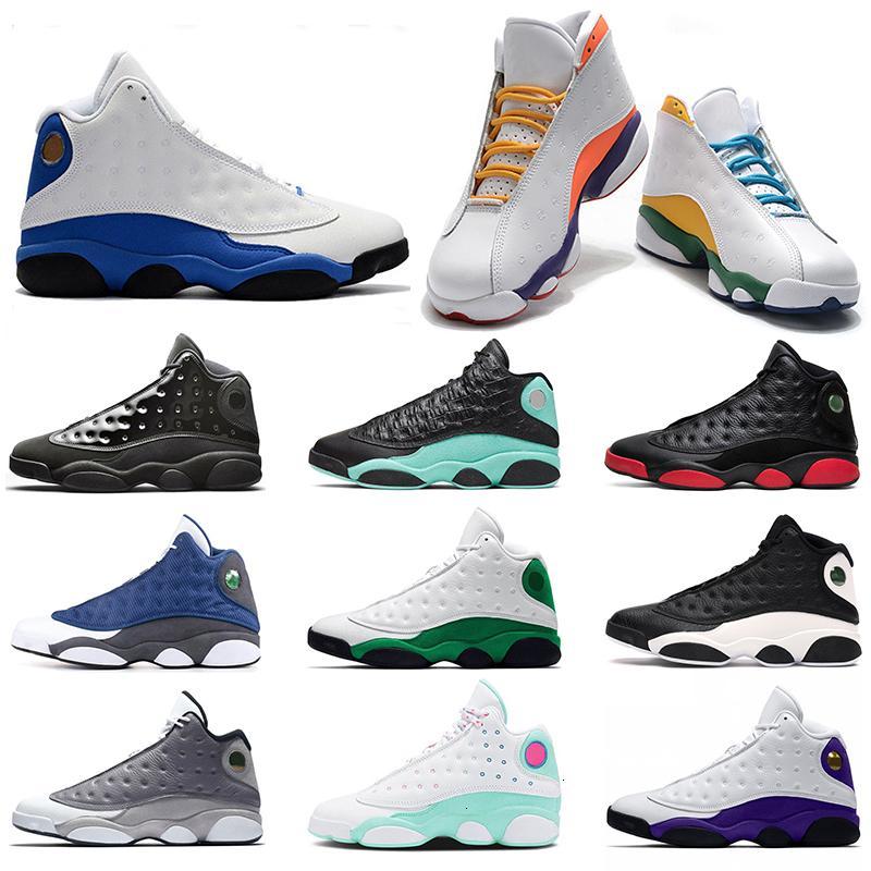 Новые 13 13s Jumpman Баскетбол обувь Flint Reverse Он Got Island Игра Зеленый площадка Мужские Женские Кроссовки Спортивные кроссовки Размер 36-47