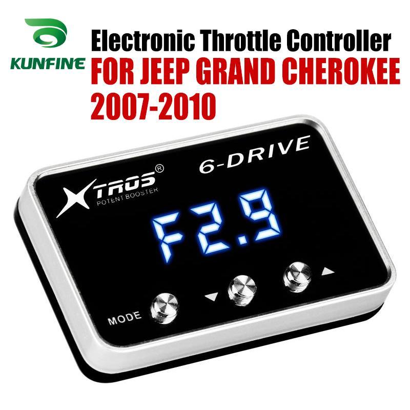 Voiture d'accélérateur électronique contrôleur Racing Accelerator Booster Pour Potent JEEP GRAND CHEROKEE 2007 2010 Pièces Tuning Accessoires