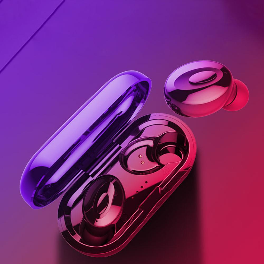 XG15 TWS سماعة بلوتوث لاسلكية مكالمة الأذنين تأتي مع شحن القضية v5.0 handfree الرياضة اللياقة البدنية في الأذن سماعات ستيريو سماعات