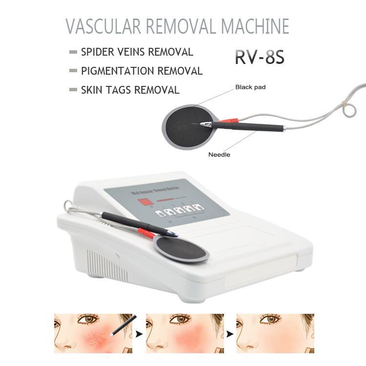 Usine professionnelle! Spider Vein traitement machine Visage Corps vasculaire Enlèvement beauté Soins Vaisseau sanguin Traitement RF peau machine à usage hom