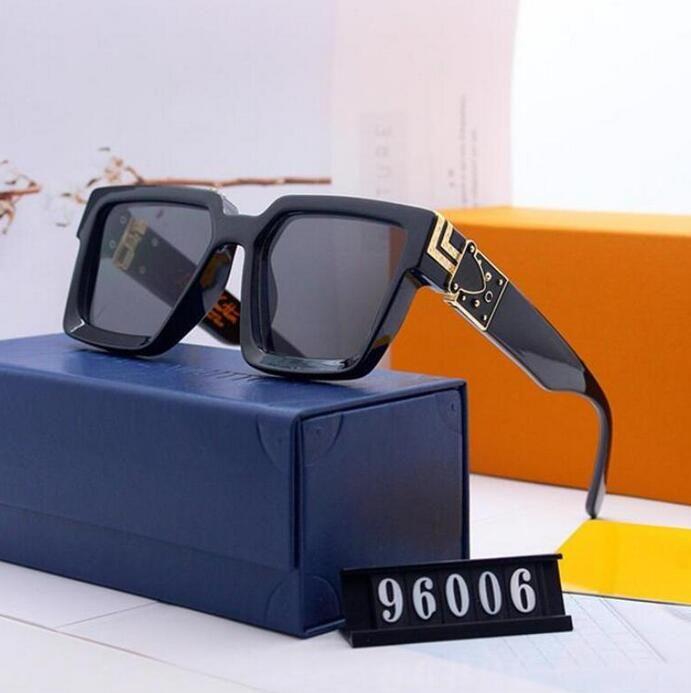 Mode Männer Sonnenglas Vintage Qualität Sonnenbrille Designer Sport Für Sonnenbrille Gläser Metall Hohe Luxus XASAQ