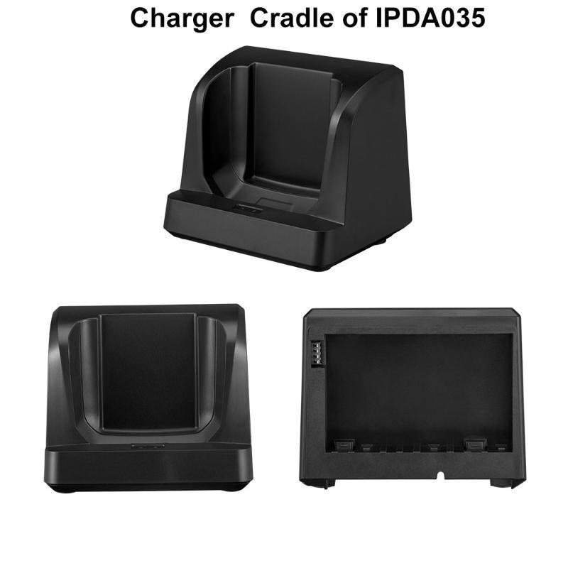 IssyzonePOS Ladestation für PDA Data Collector IPDA035 Hand PDA Android 8.1 herausnehmbare Akku-Ladegerät