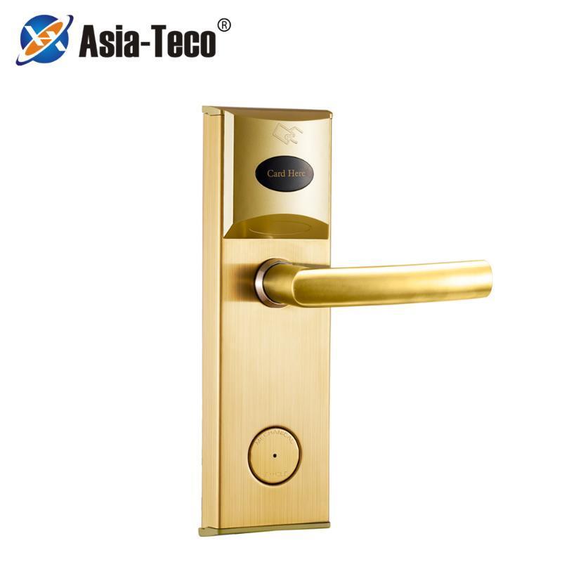 Hotel sistema de acesso porta porta elétrica inteligente eletrônico Hotel Card chave digital de bloqueio eletrônico