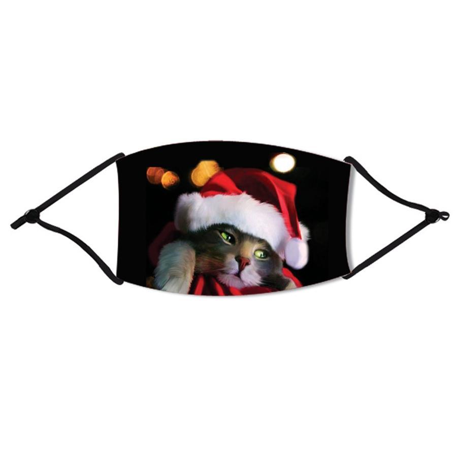 3D Kamuflaj Yüz Noel Maskeleri Toz Yüz Noel Sınır Ötesi Nefes Yüz Noel Maskeleri free shipping 1525 # 957 Maske