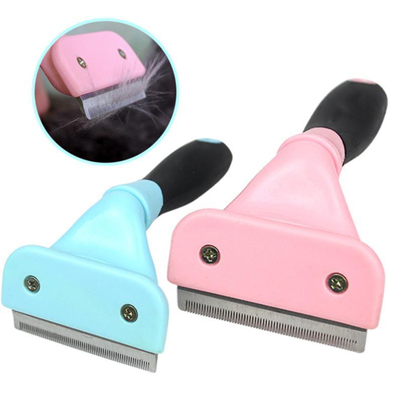 Remoção Furmins Escova Pet Para Comb cabelo do gato Professional Lavagem Grooming ferramenta Deshedding KcNBj bdebaby