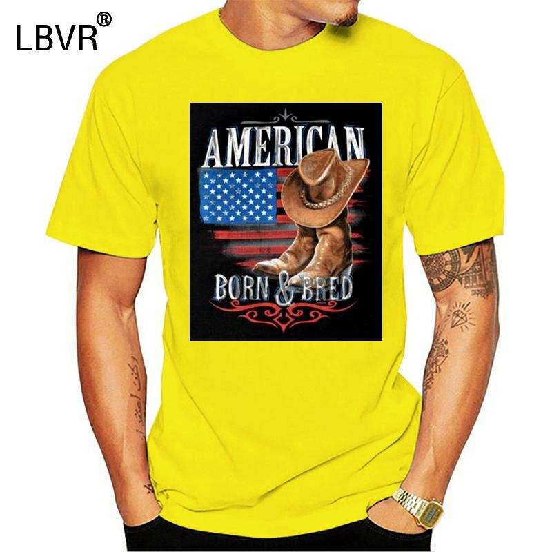 Américain né Pays Bred shirt Sud Redneck occidental T-shirt