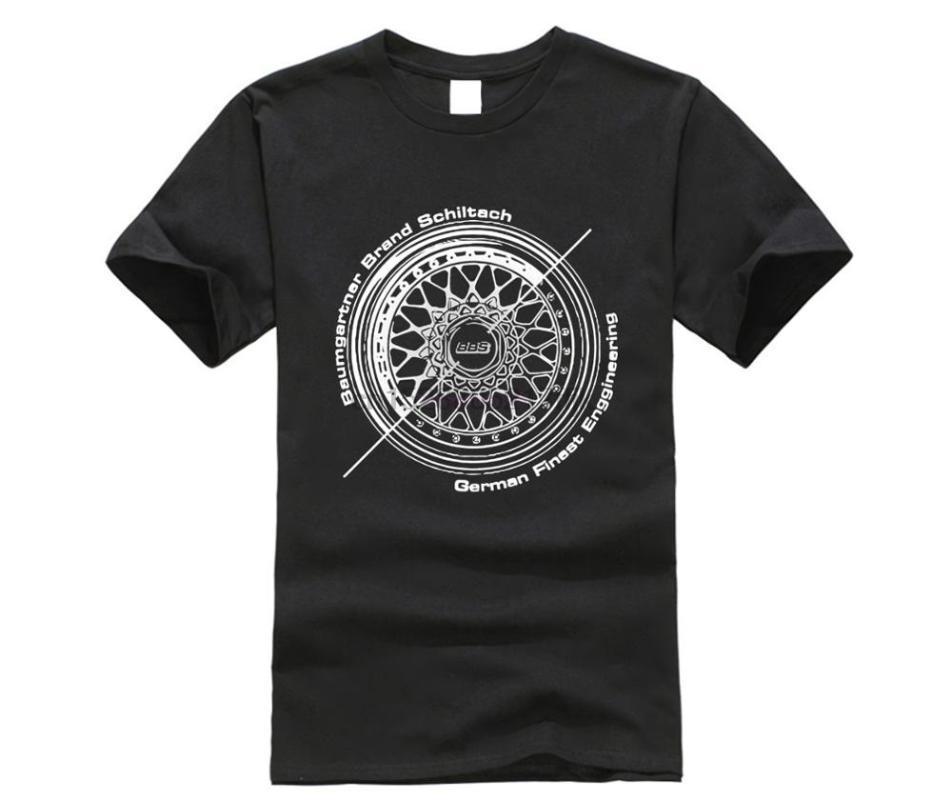 Ruote BBS Automotive Moda T Shirt T shirt Uomo classica parti superiori del T divertente tshirt novità tshirt uomini