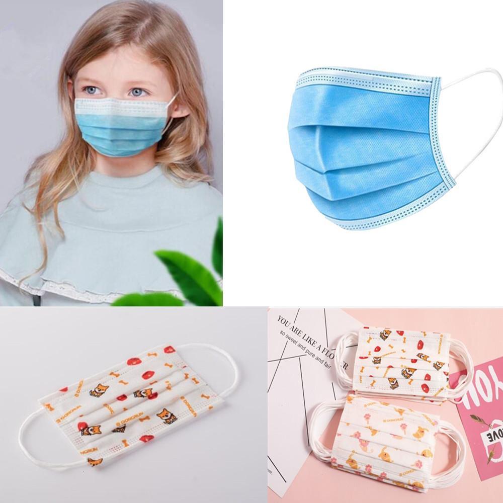 envío, libre de 50 paquetes de transpirable de protección desechable de tres capas de soplado en fusión a prueba de polvo masksL81T