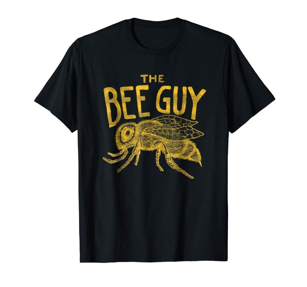 Dell'apicoltore Men Shirt - The Bee Guy Apicoltura Honey Bee Graphic 2019 estate nuovi uomini divertenti casuale di marca camice Top Homme Suit