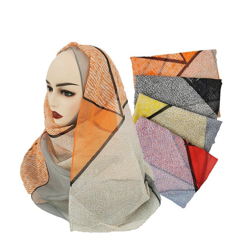 Moda 2020 Nuovo 180 * 85cm delle donne della stampa sciarpa primavera e l'autunno Piazza della Seta Sciarpe per le donne Bandana colli e sciarpe 10 pz