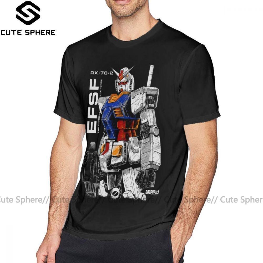 Le destin T-shirt Gundam T-shirt imprimé XXX T-shirt homme impressionnant Streetwear 100 pour cent coton à manches courtes T-shirt