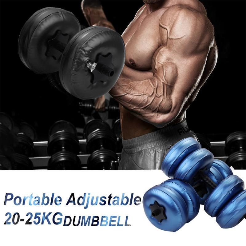 Water-filled Dumbbell Hand Weight Bodybuilding Gym Exercise Arm Muscle Training Fitness Equipment Dumbbell