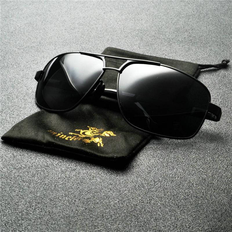 MINCL Vintage солнцезащитные очки Мужчины Дизайнер Вождение ВС Очки Мужской Оттенки Ретро Goggle UV400 Черный Синий очки NX