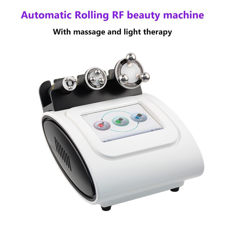 Beauty Salon Equipment 360 gradi Radiale Frequenza RF macchina dimagrante per eliminare la cellulite e rughe con LED