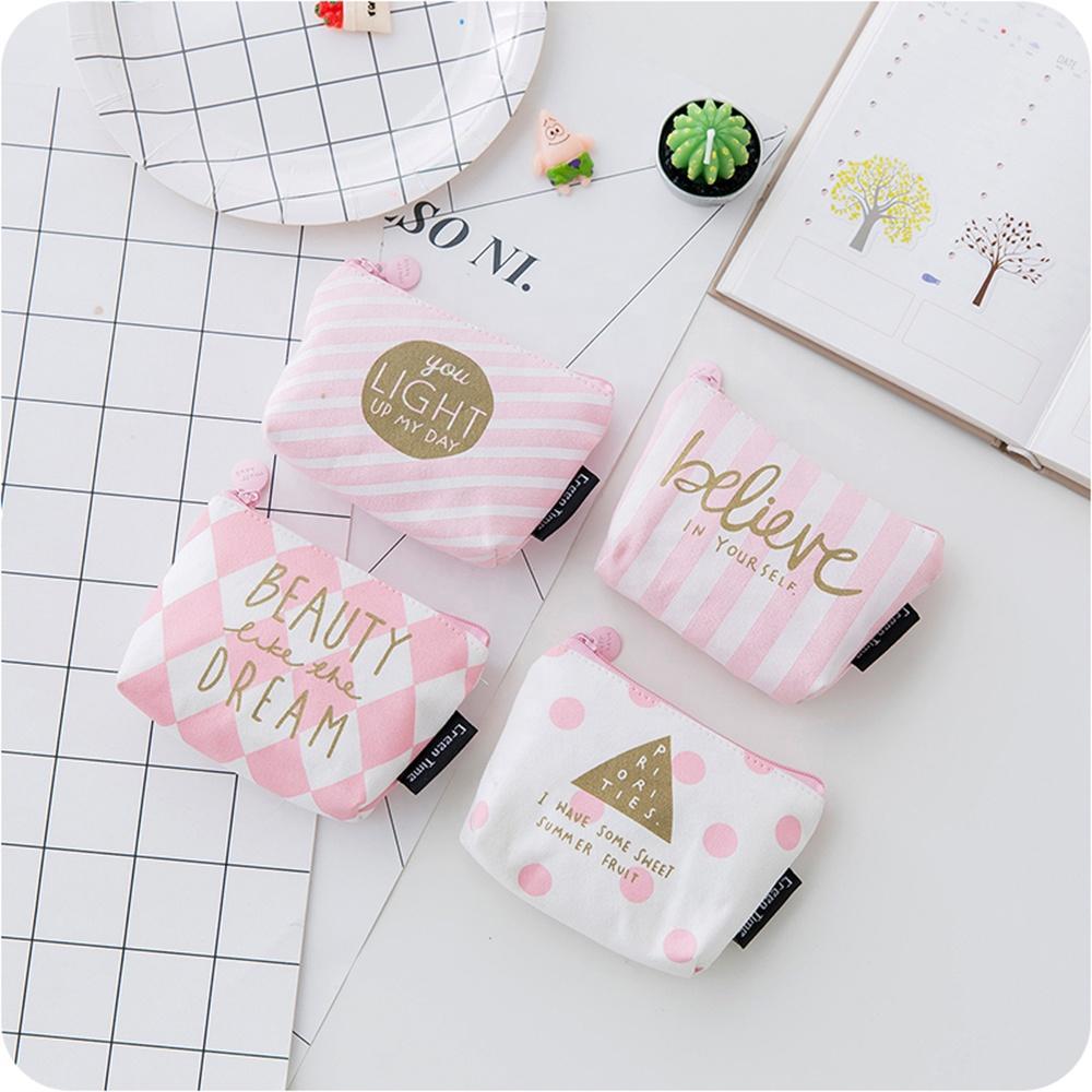 Cute Pink монет Кошельки держатель Мода Girl Дети Mini подарки Изменение бумажники Деньги сумка монеты сумка Дети Женщина Zipper мешок подарки