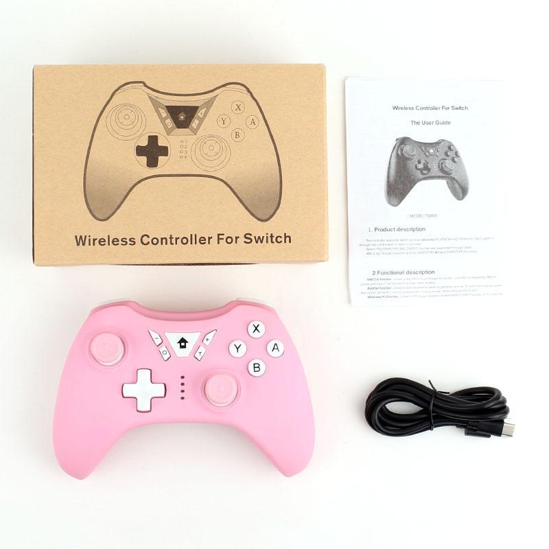 Bluetooth Wireless-Pro-Controller Gamepad Joypad Fernbedienung für Nintend Schalter Spielkonsole TSW05S Konsole Gamepad Joystick Wireless Controller