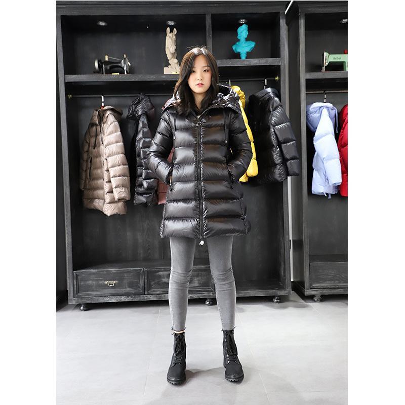 Liquidazione Speciali M Home Classic Suyen Same a forma di A Versione Bambola Giacca mantello con cappuccio Giù donne di lunghezza media