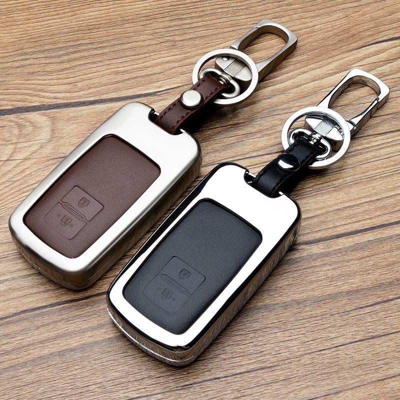 Ключевой набор сумка для TOYOTACorolla ЛЕВИН Highlander Reiz RAV4 Камри CROWN цинковый сплав Key оболочки Обложка чехол