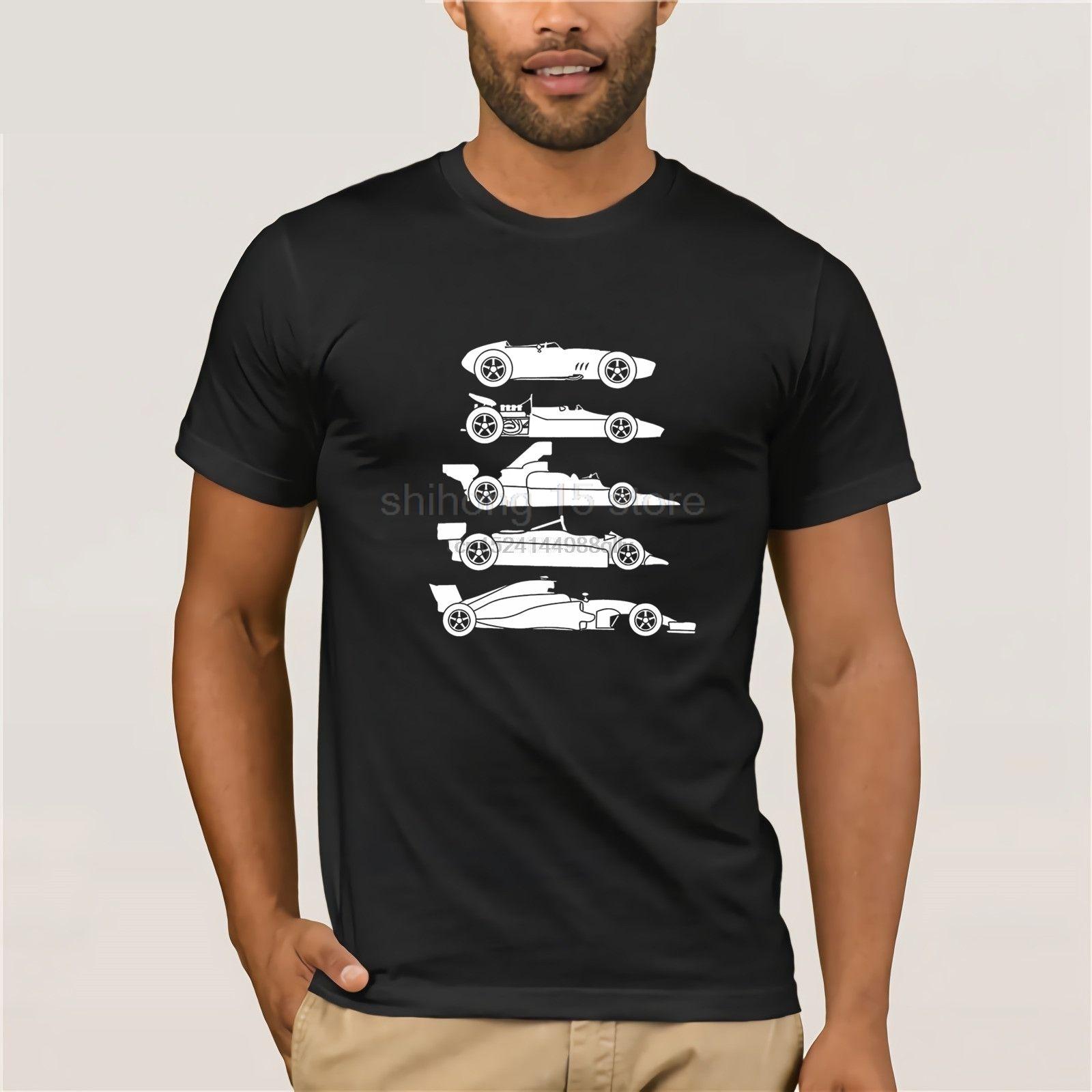 Evolution Hommes de la formule F 1 voiture Un T-shirt S-XXXL Nouveau T-shirts drôle Tops T New Tops drôles unisexe