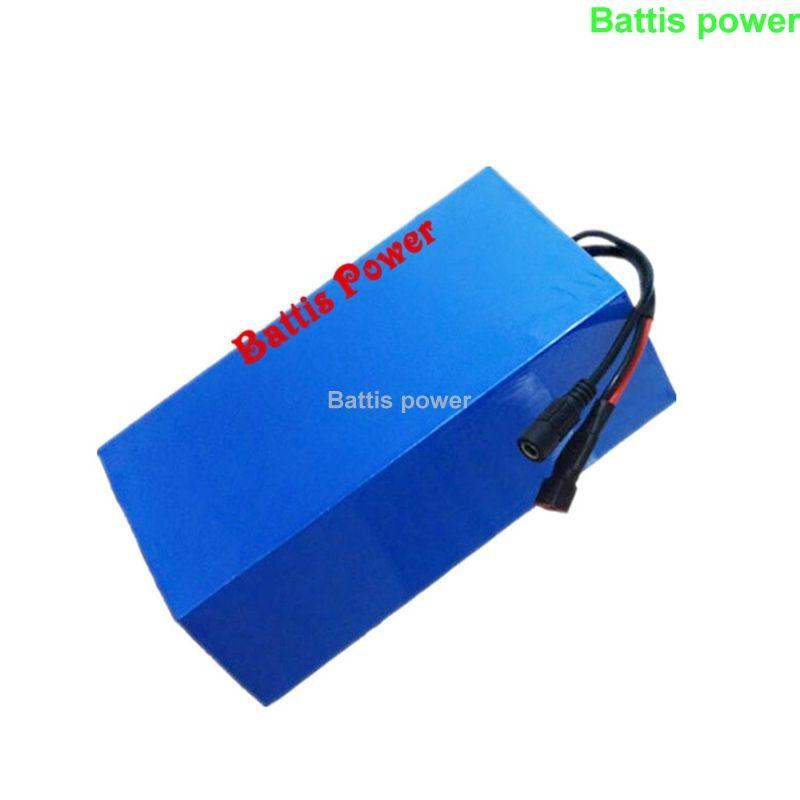Pile au lithium 4S 14.8V pack ion li 100Ah 120Ah avec BMS pour les moteurs de bateau scooter + 10A chargeur