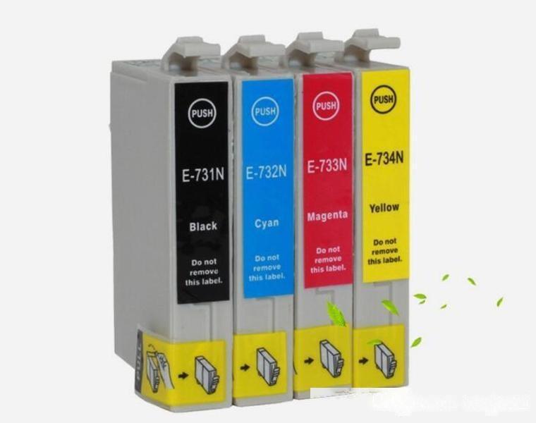 EPSON TX400 T22E TX550W TX600FW TX110 CX5500 73N Tinteiro