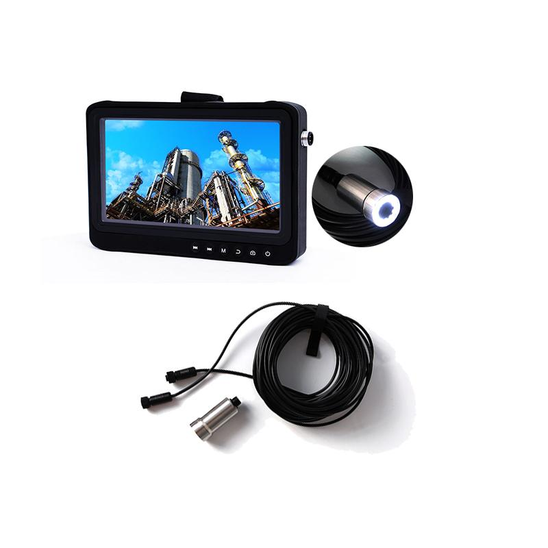 1080P Full HD Video endoscope borescope Pipe Drain Sewer Chimney Inspection Camera system