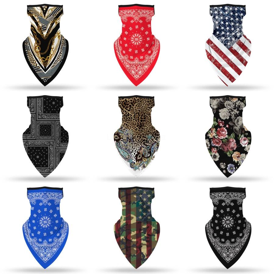 Magic Sports Turban Scarf Imprimer Masques Poussières Visage Cap0 Élection du président américain Protect Mask # 847