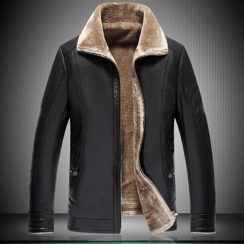 2020 Parka 8XL 7XL Winter Thickening Warm Mens Jacket Zipper 6XL 5XL Faux Leather Coat Yellow Male Jackets 1808