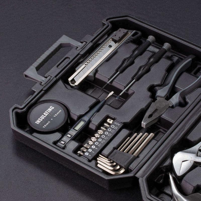 Equipo de protección Caja de Herramientas Set de Inicio de seguridad impermeables de herramientas Maleta caja manual Herramientas Taller herramientas de empaquetado DB60TB