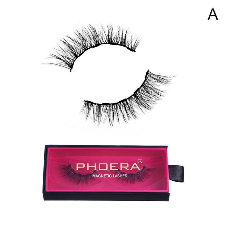 Magnetic Liquid Eyeliner Gel False Fake Eyelashes Perfect 3D Eye Lashes Makeup Set Strong Five-Magnetic Makeup Tool
