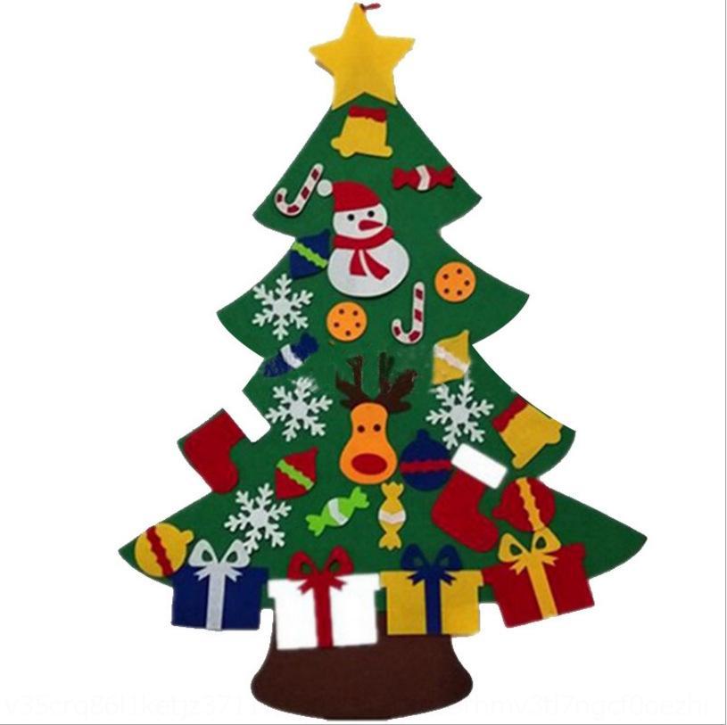 Войлок игрушки treedecoration детского стерео дерево ручная работа в классе Специального Войлок Diy игрушки Игрушка toyChristmas treedecoration детских игрушки DIY