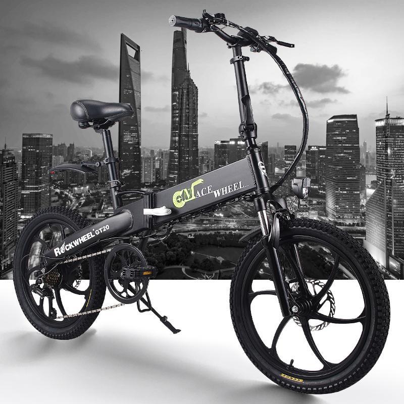 350W elettrico da 20 pollici del motociclo della bici della bicicletta della montagna della bici elettrica in acciaio al carbonio bicicletta elettrica ruota neve